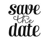 Individueller Selbstf/ärber-Abwehr das Datum Briefmarken Personalisierte Runde Hochzeits-Stempel Einladung Geschenk